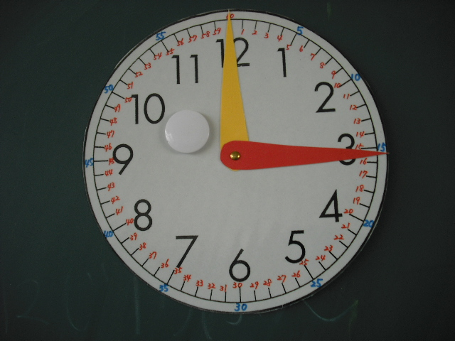 算数 5年算数問題 : 時計の勉強: 愛知県高浜市立 ...